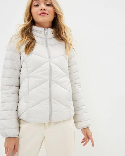 Утепленная серая куртка Mavi