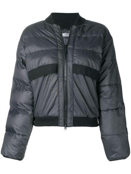 Черный спортивная куртка с манжетами Adidas By Stella Mccartney