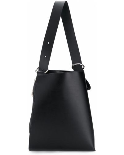 Черная сумка на плечо Venczel