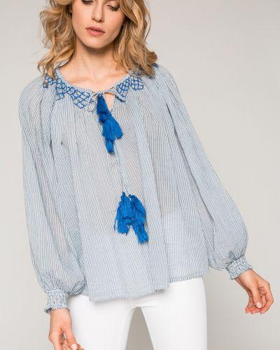 Блузка с вышивкой с декольте Pepe Jeans