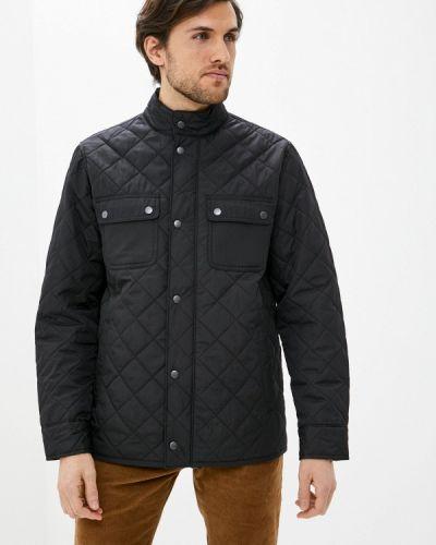 Теплая черная куртка Gap
