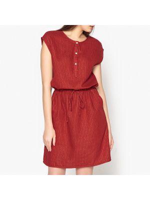 Платье мини в полоску с поясом макси Hartford