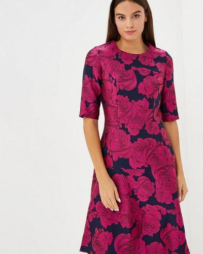 Повседневное платье осеннее розовое Madam T