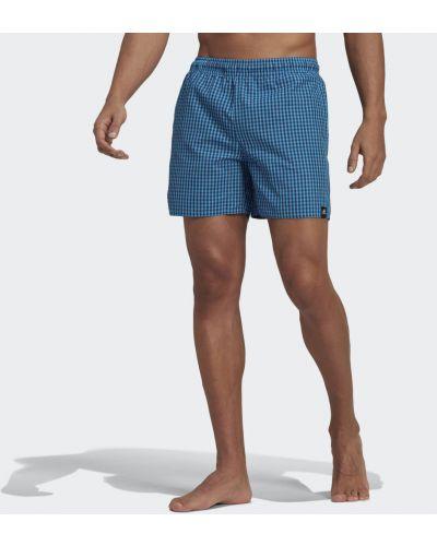 Облегченные спортивные шорты с рисунком Adidas