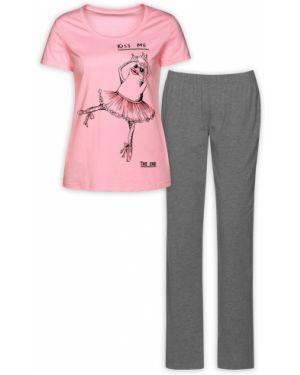 Пижама с брюками шелковая пижамный Pelican