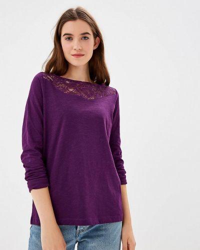 Фиолетовый лонгслив S.oliver