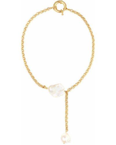 Choker z perłami złoto pozłacany Timeless Pearly