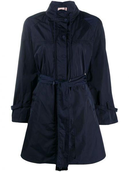 Длинное пальто на кнопках асимметричное Twin-set