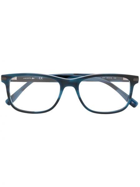 Oprawka do okularów plac khaki za pełne wytłoczony Lacoste
