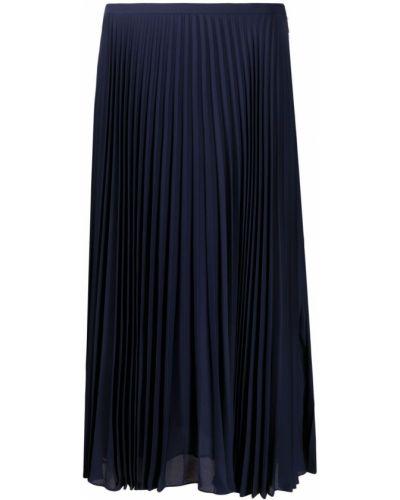 Плиссированная юбка - черная Lauren Ralph Lauren