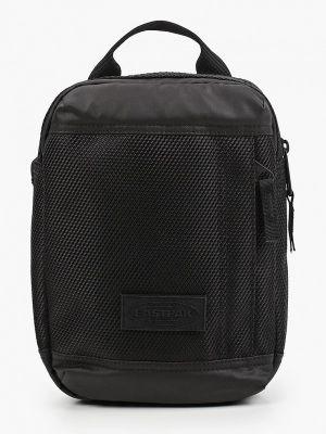 Черная текстильная сумка через плечо Eastpak