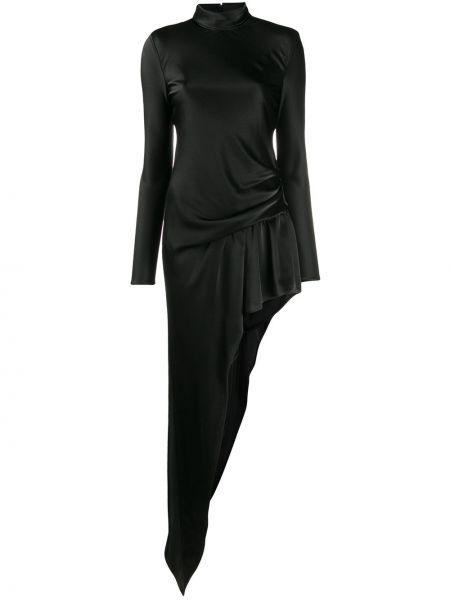 Платье на молнии черное Alexander Wang