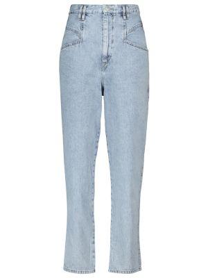 Хлопковые джинсы - синие Isabel Marant