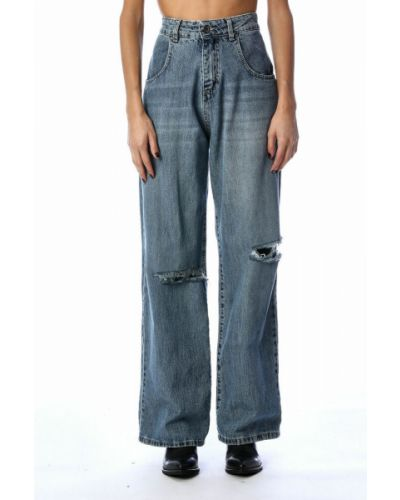 Niebieskie mom jeans Souvenir