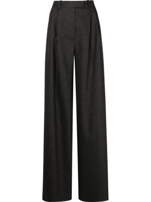 Шерстяные брюки - серые Altuzarra