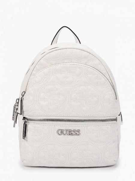 Рюкзак белый городской Guess