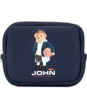 Синяя сумка Johnundercover