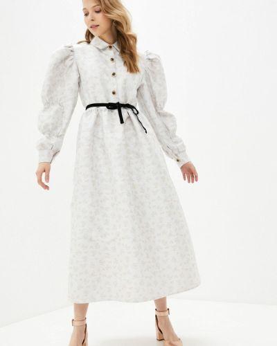Серое вечернее платье Sister Jane