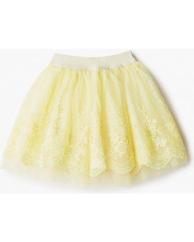 Шорты-юбки весенняя турецкая желтая юбка Lc Waikiki