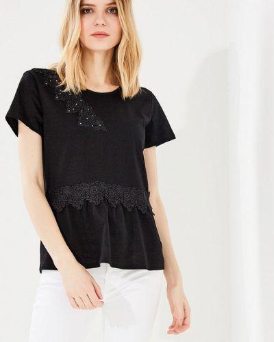 Черная футболка Blugirl Folies