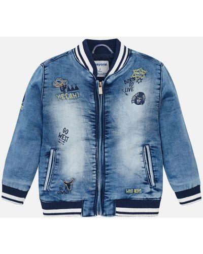 Куртка джинсовая теплая Mayoral