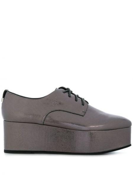 Оксфорды кожаные для обуви Calvin Klein