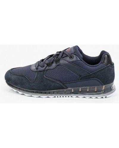 Синие кроссовки осенние Mascotte