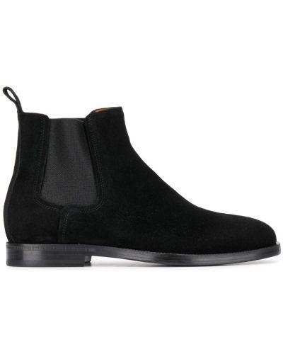 Ботинки челси классические черные Lanvin