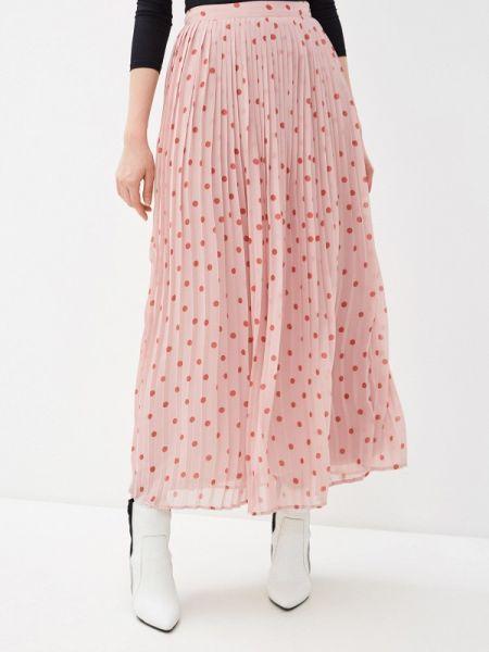 Платье розовое плиссированное Vila