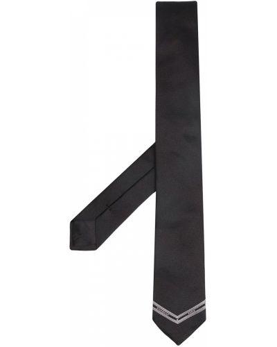 Jedwab czarny gumka do włosów Givenchy
