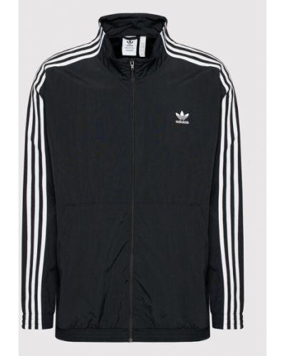 Czarna kurtka przejściowa Adidas Originals