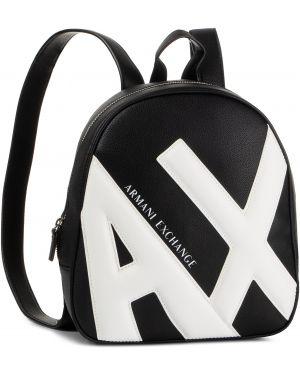 Torba plecak na torbę czarna Armani Exchange