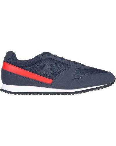 Кожаные кроссовки - синие Le Coq Sportif