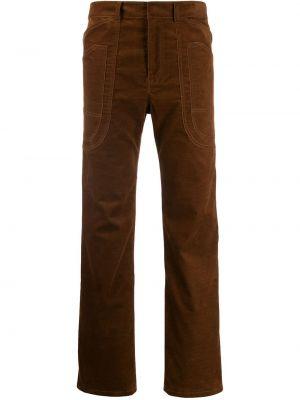 Деловые брюки с воротником с поясом Asai