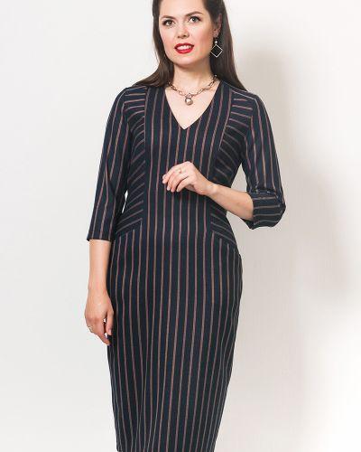 С рукавами платье-футляр с карманами с V-образным вырезом Modellos