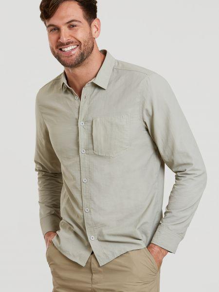 Koszula - beżowa Mountain Warehouse
