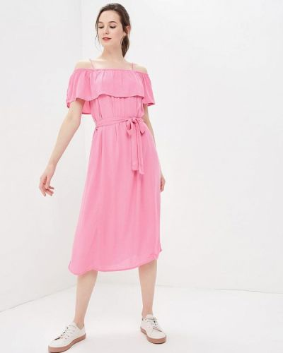 Розовое платье весеннее Ichi