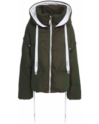 Zielona kurtka z kapturem Khrisjoy