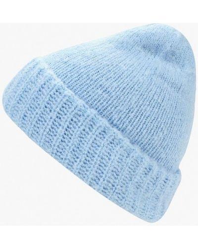 Голубая шапка осенняя Zarina