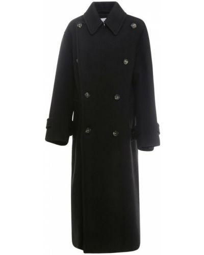 Czarny płaszcz Sportmax
