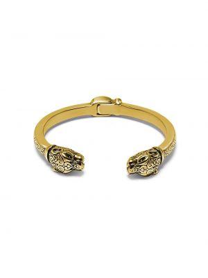 Золотистый желтый браслет позолоченный Nialaya Jewelry