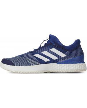 Облегченные спортивные теннисные текстильные кроссовки Adidas