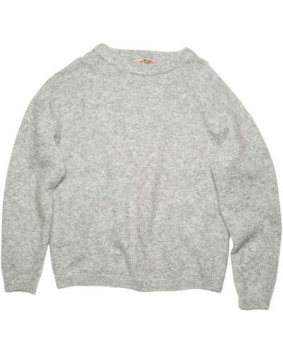 Sweter oversize - szary Acne Studios