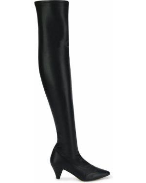 Черные ботинки на каблуке Essentiel Antwerp