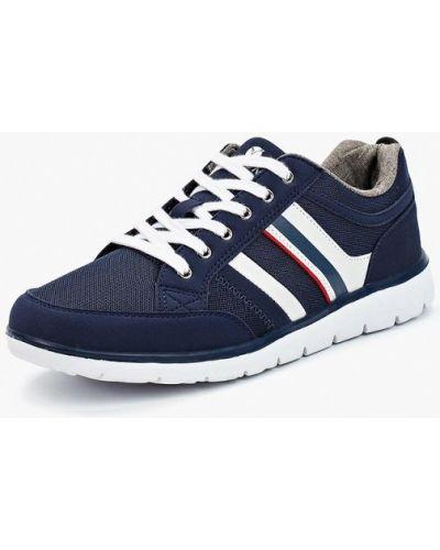 Синие кроссовки замшевые Timejump