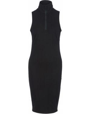 Платье черное с воротником Dkny