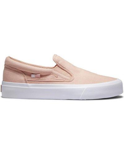 Слипы - розовые Dc Shoes