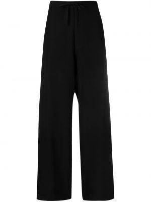 Свободные черные брюки свободного кроя SociÉtÉ Anonyme