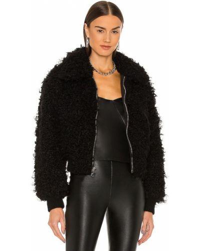 Черная джинсовая куртка из искусственного меха Rta