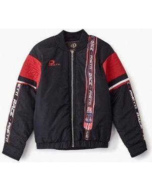 Куртка черная осенний Pinetti
